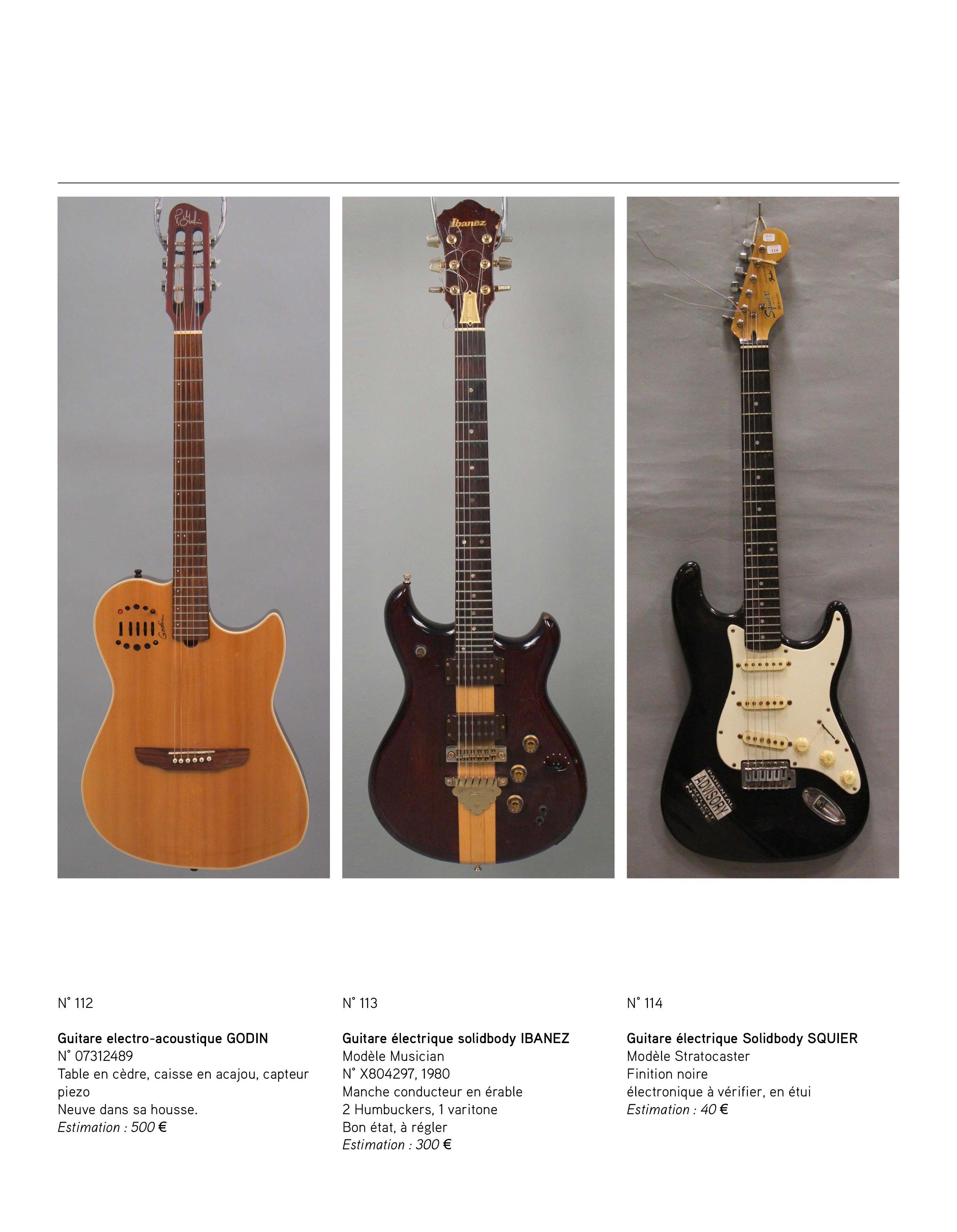 2013 - décembre - catalogue de guitares Vintage - p02