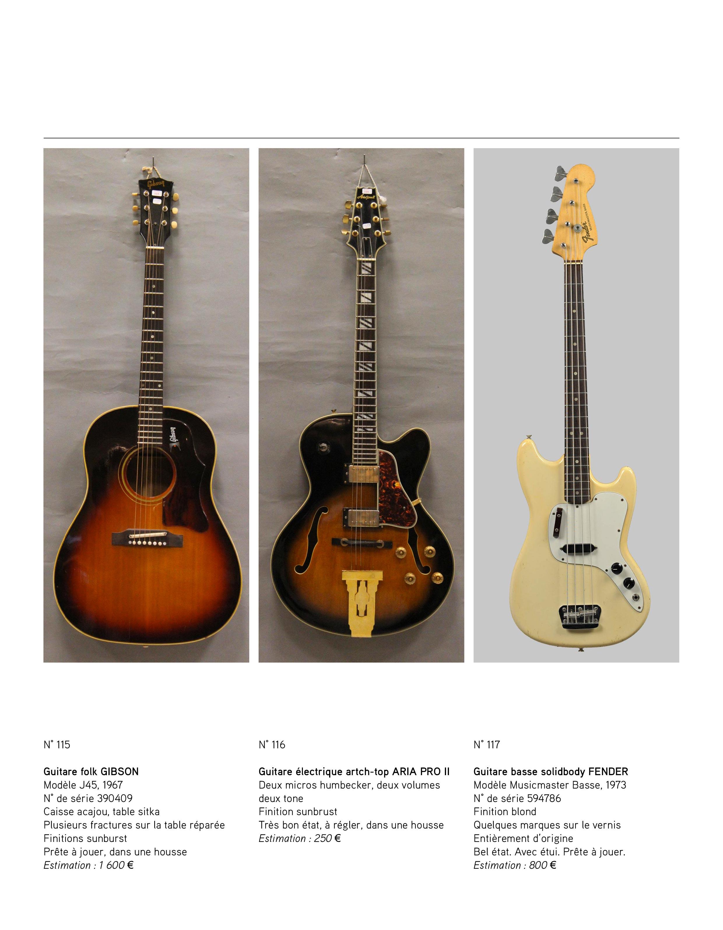 2013 - décembre - catalogue de guitares Vintage - p03