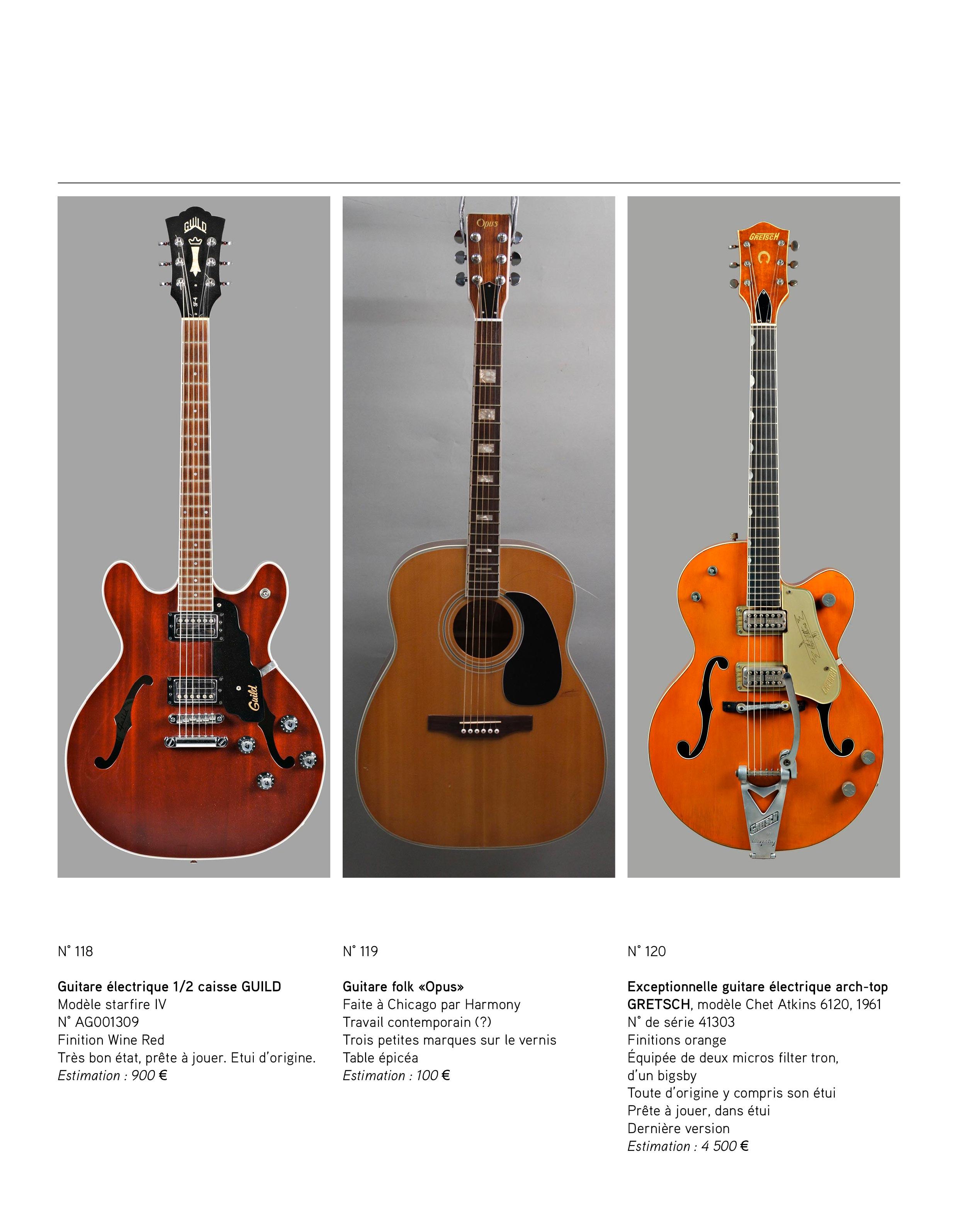 2013 - décembre - catalogue de guitares Vintage - p04
