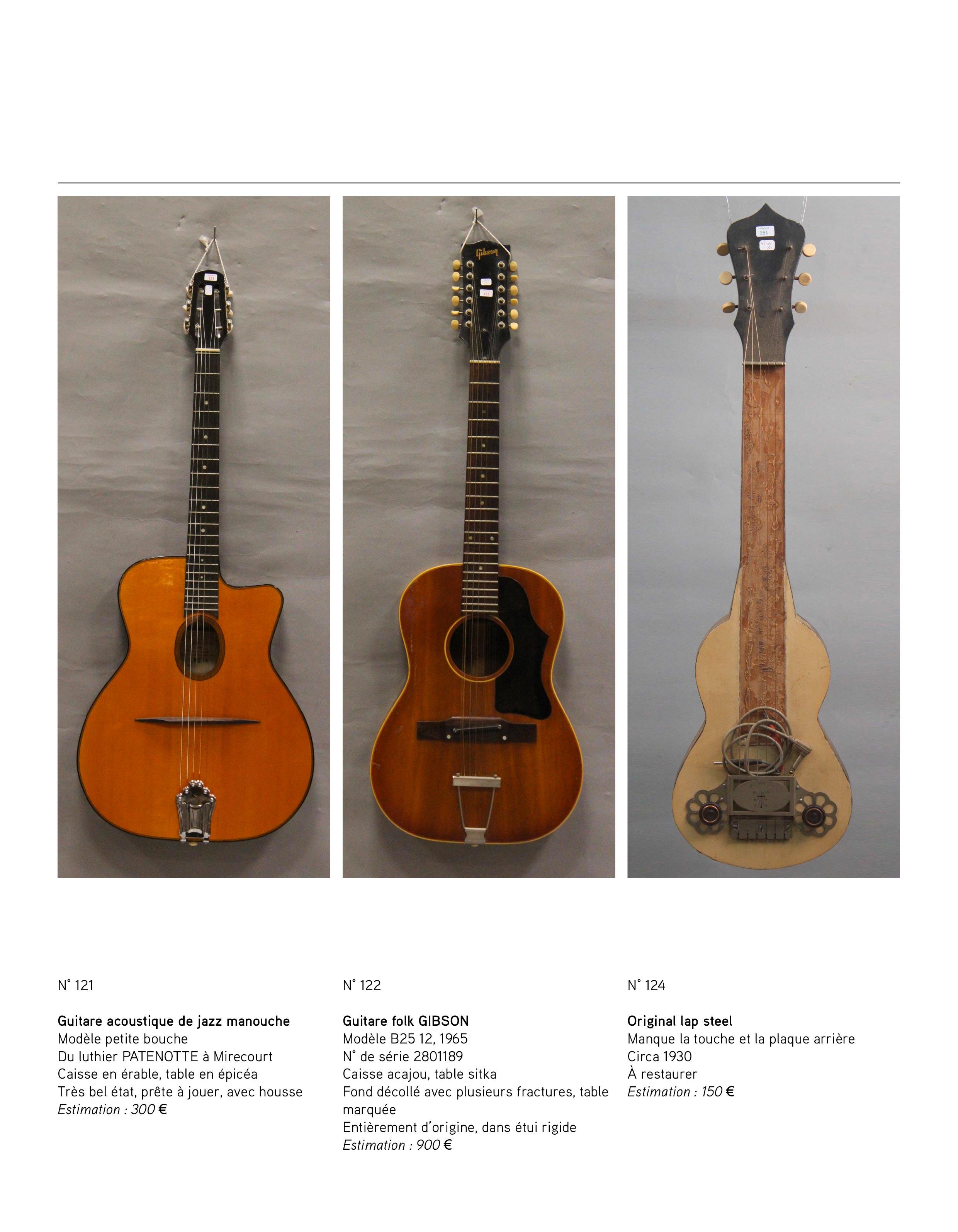 2013 - décembre - catalogue de guitares Vintage - p05