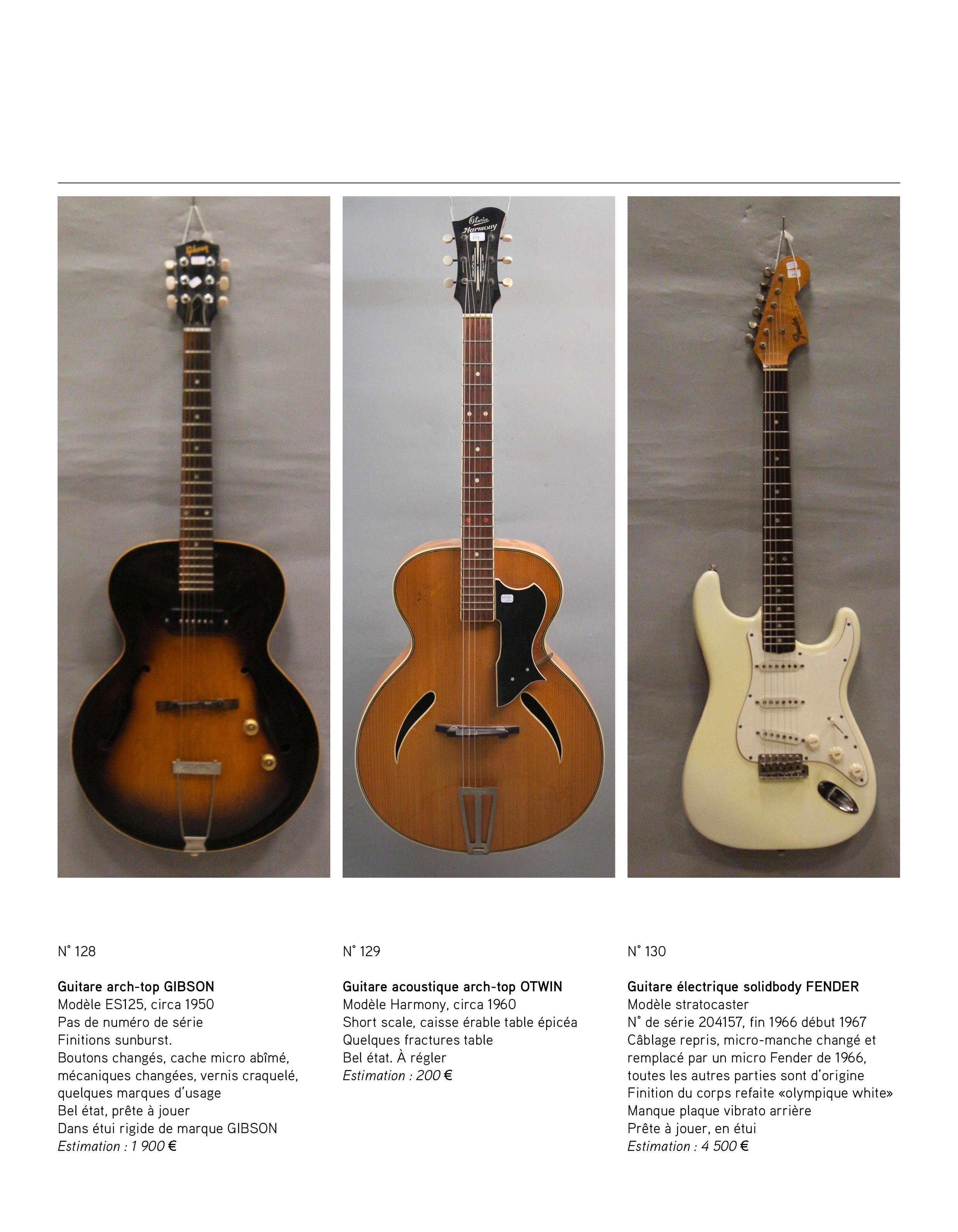 2013 - décembre - catalogue de guitares Vintage - p07