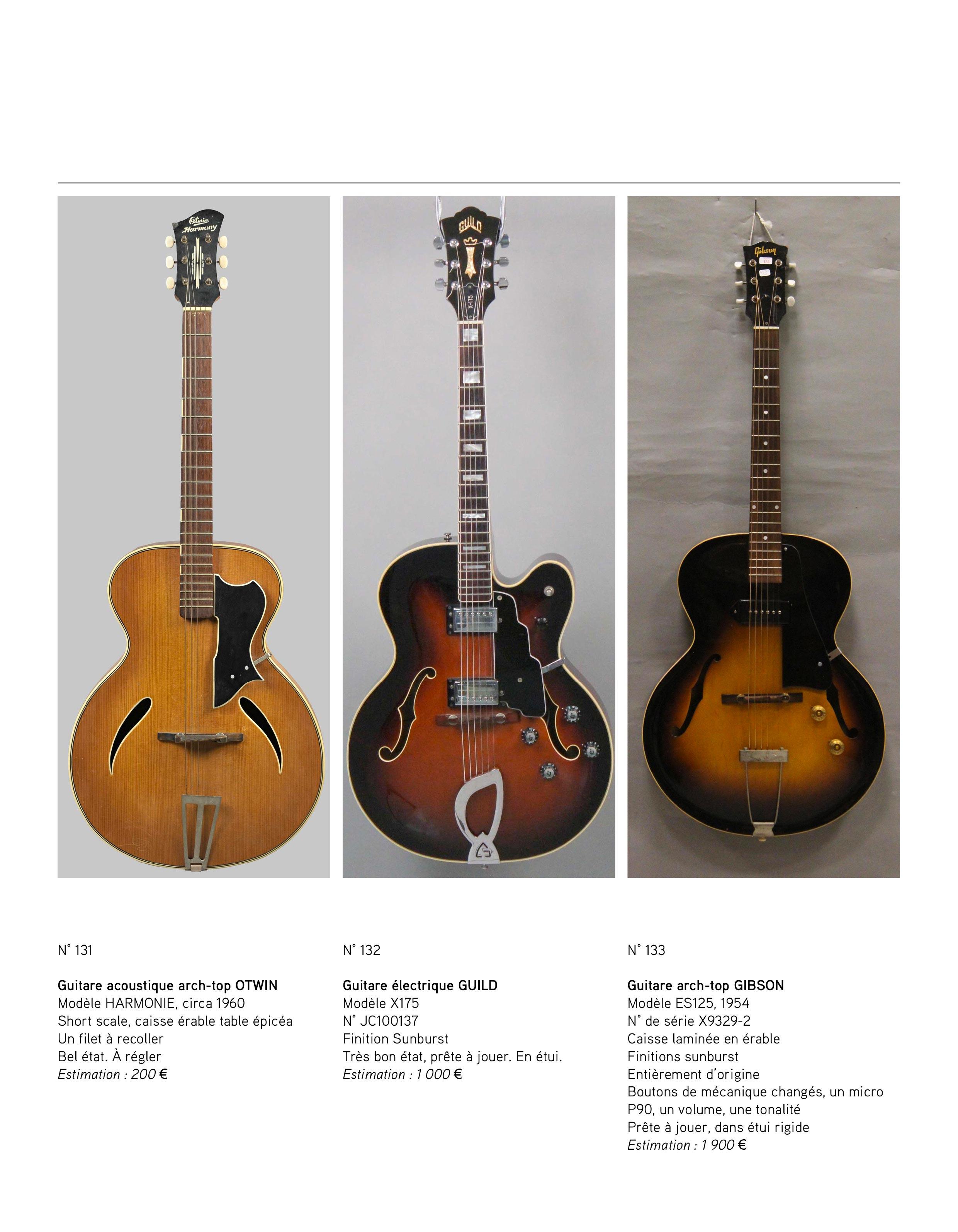 2013 - décembre - catalogue de guitares Vintage - p08