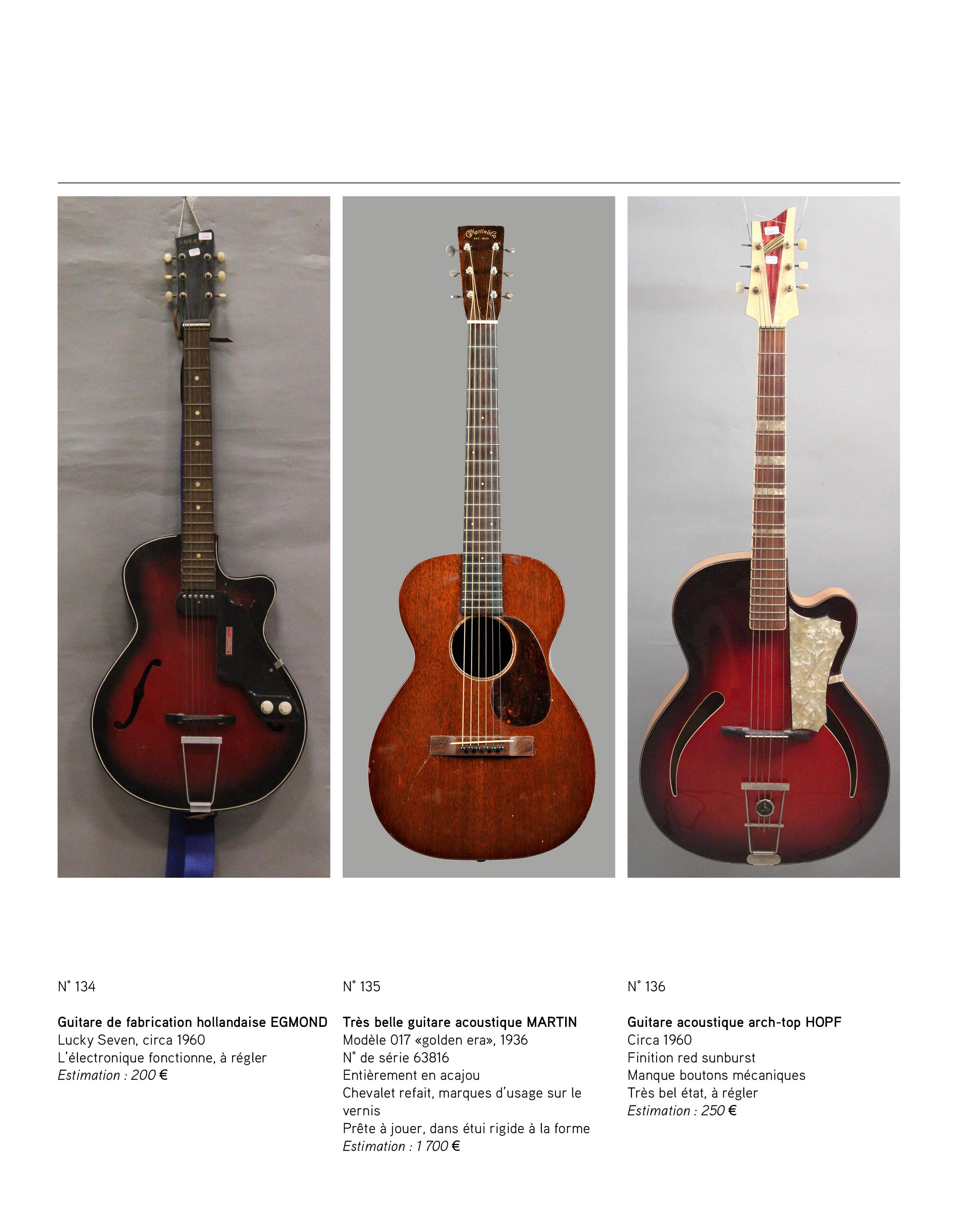 2013 - décembre - catalogue de guitares Vintage - p09