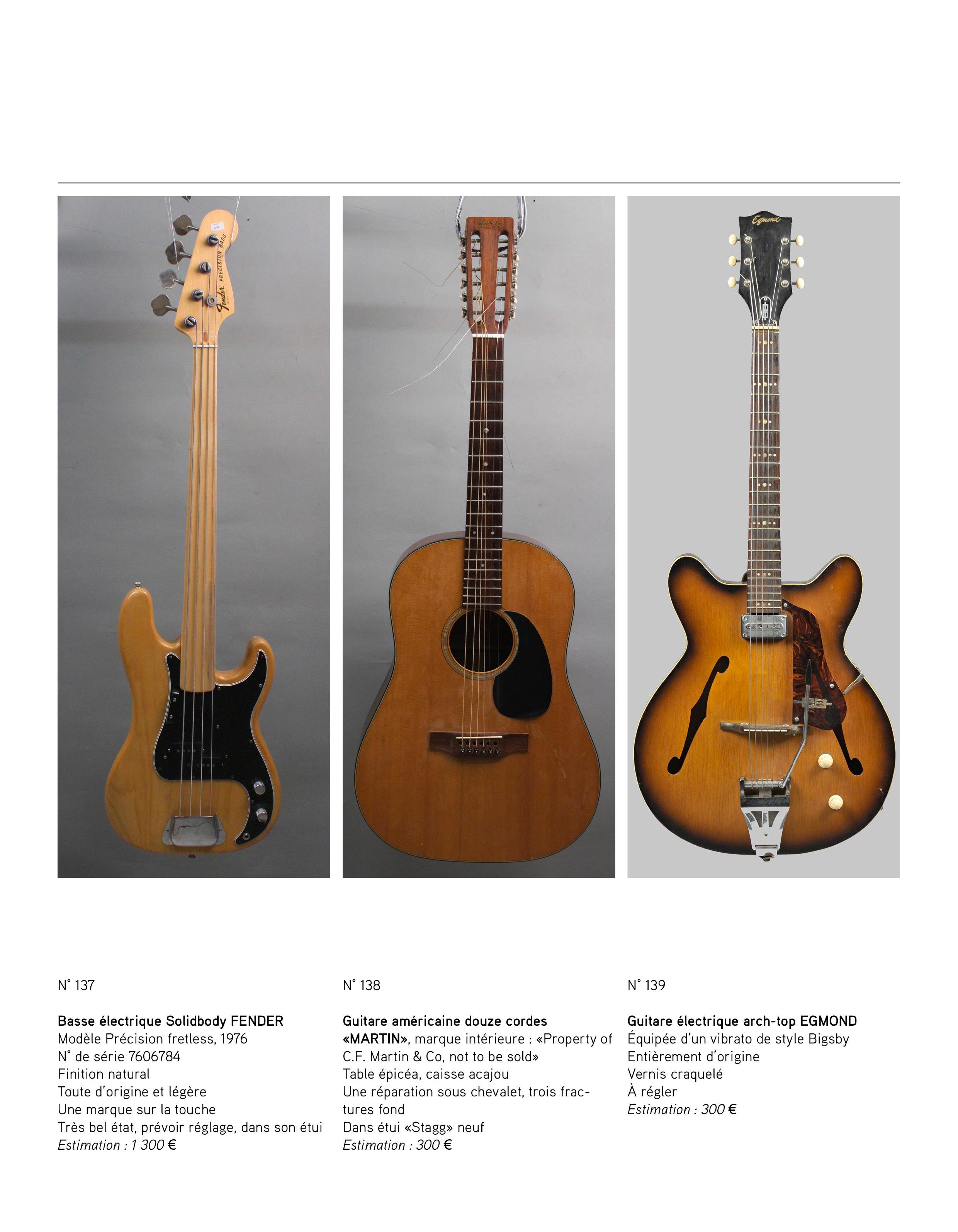 2013 - décembre - catalogue de guitares Vintage - p10