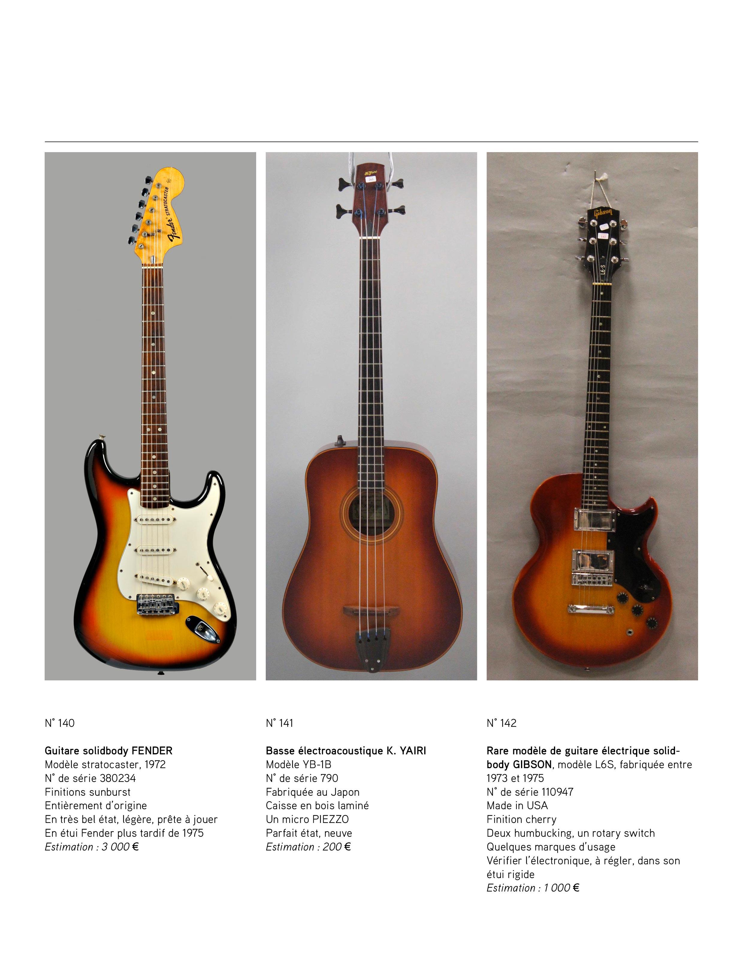 2013 - décembre - catalogue de guitares Vintage - p11