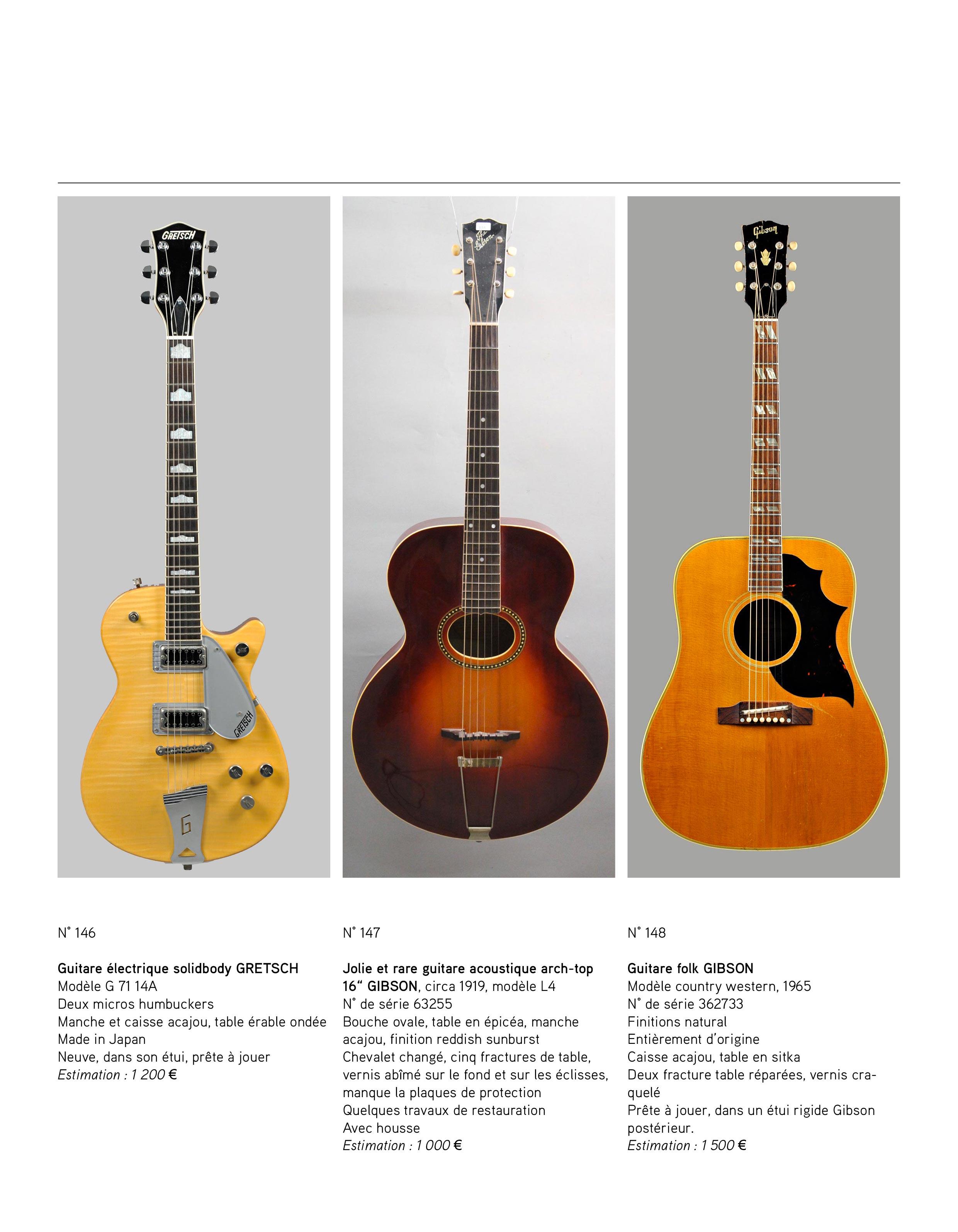 2013 - décembre - catalogue de guitares Vintage - p13
