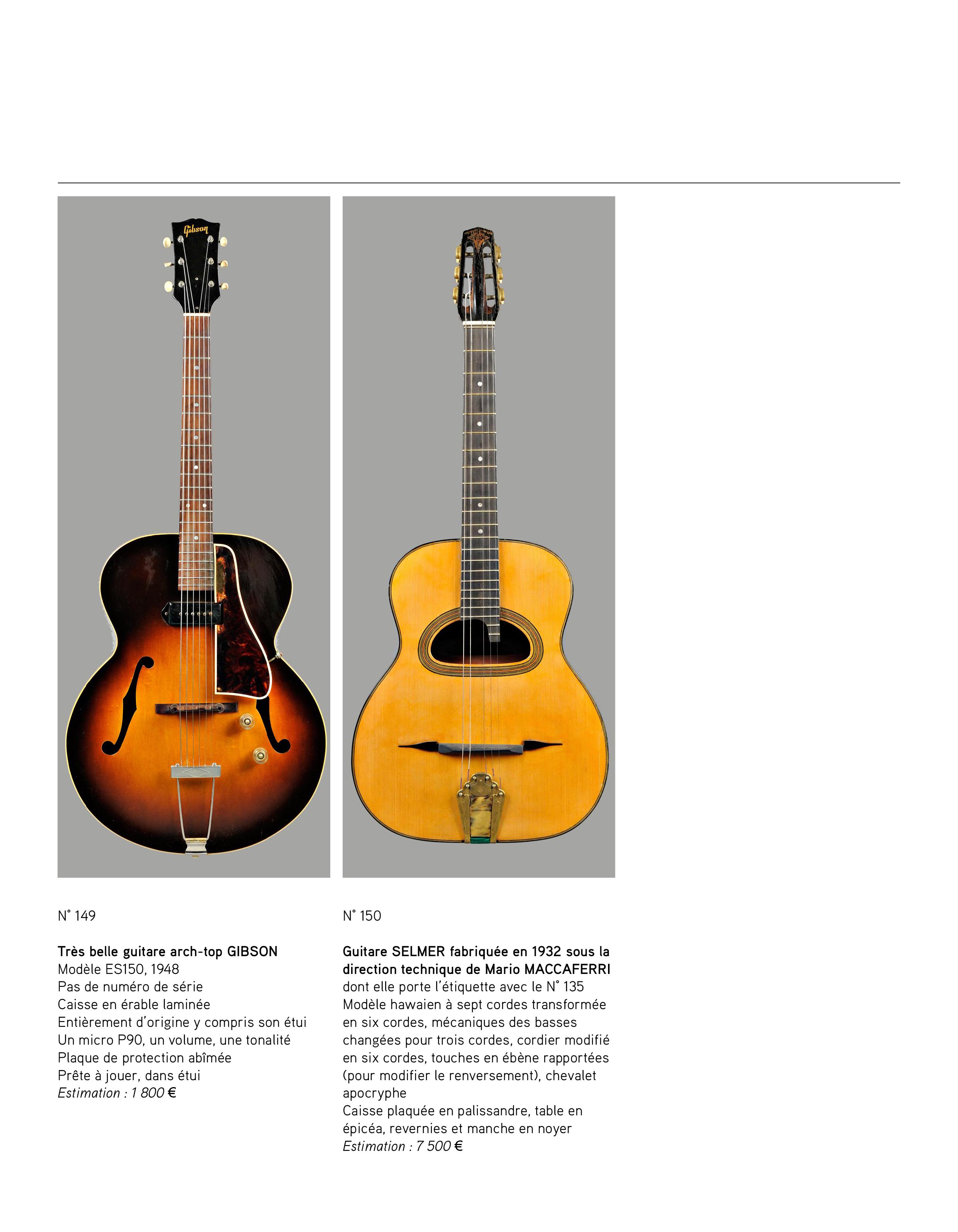 2013 - décembre - catalogue de guitares Vintage - p14