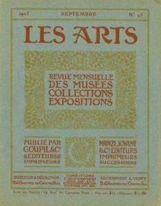 Couverture de la revue « Les Arts » - Collection Achille JUBINAL