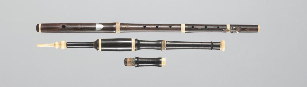 Ensemble flûte et flageolet de BUFFET AUGER
