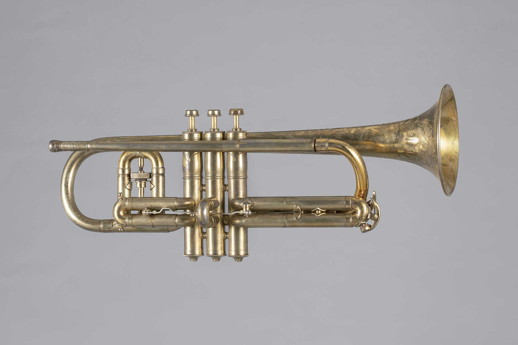 Cornet estampillé de Victor New Wonder C.G. CONN Ltd Elkhart Ind.
