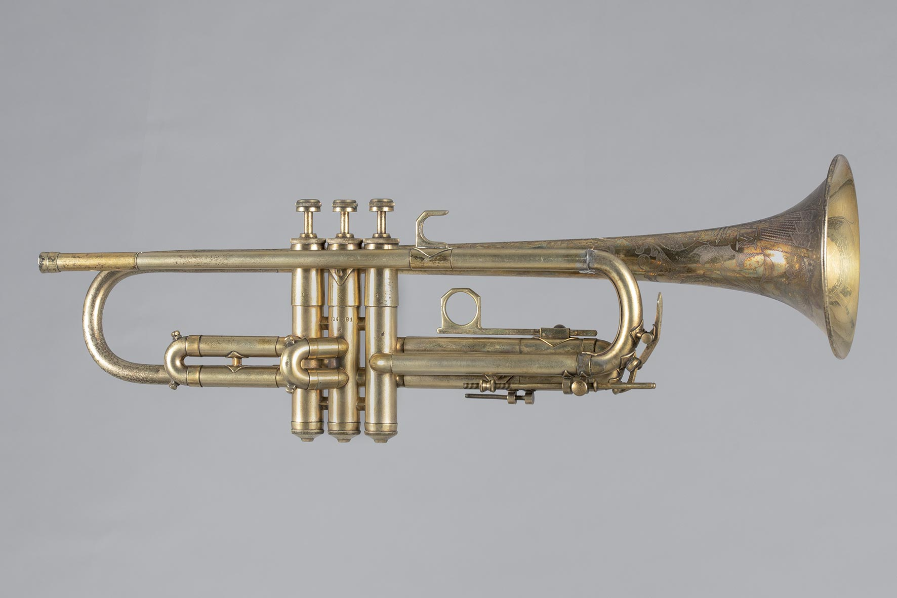 Trompette estampillée de MARTIN hand craft Elkhart Impérial