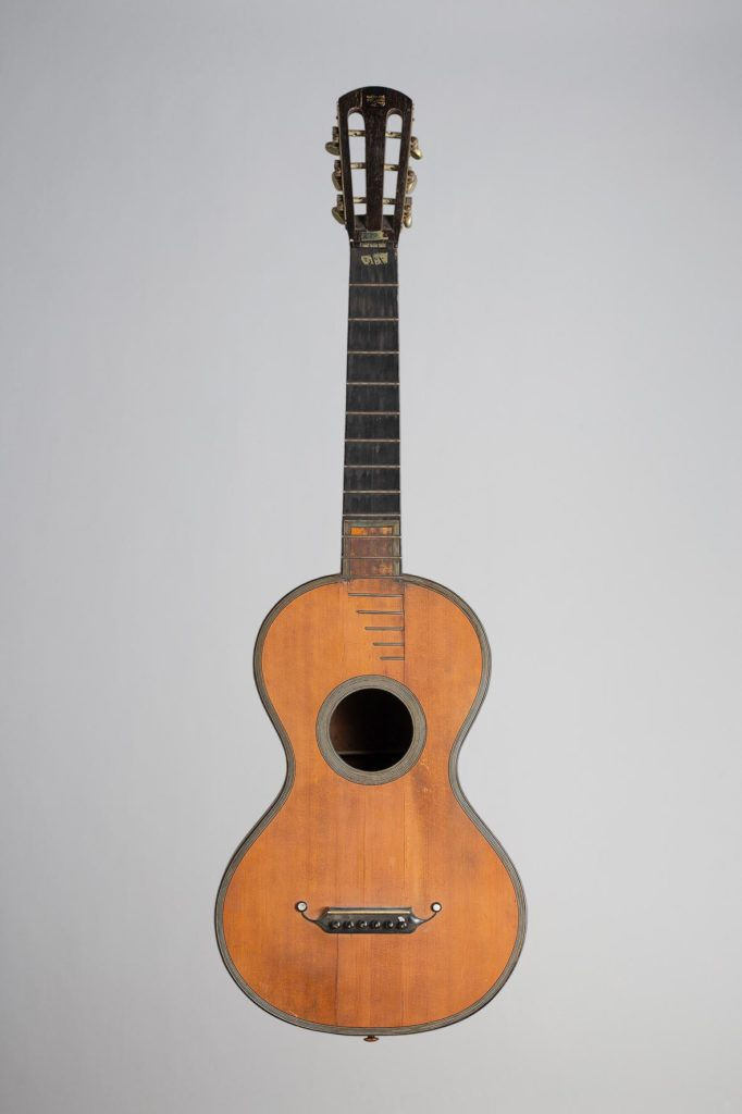 Guitare romantique de René LACOTE