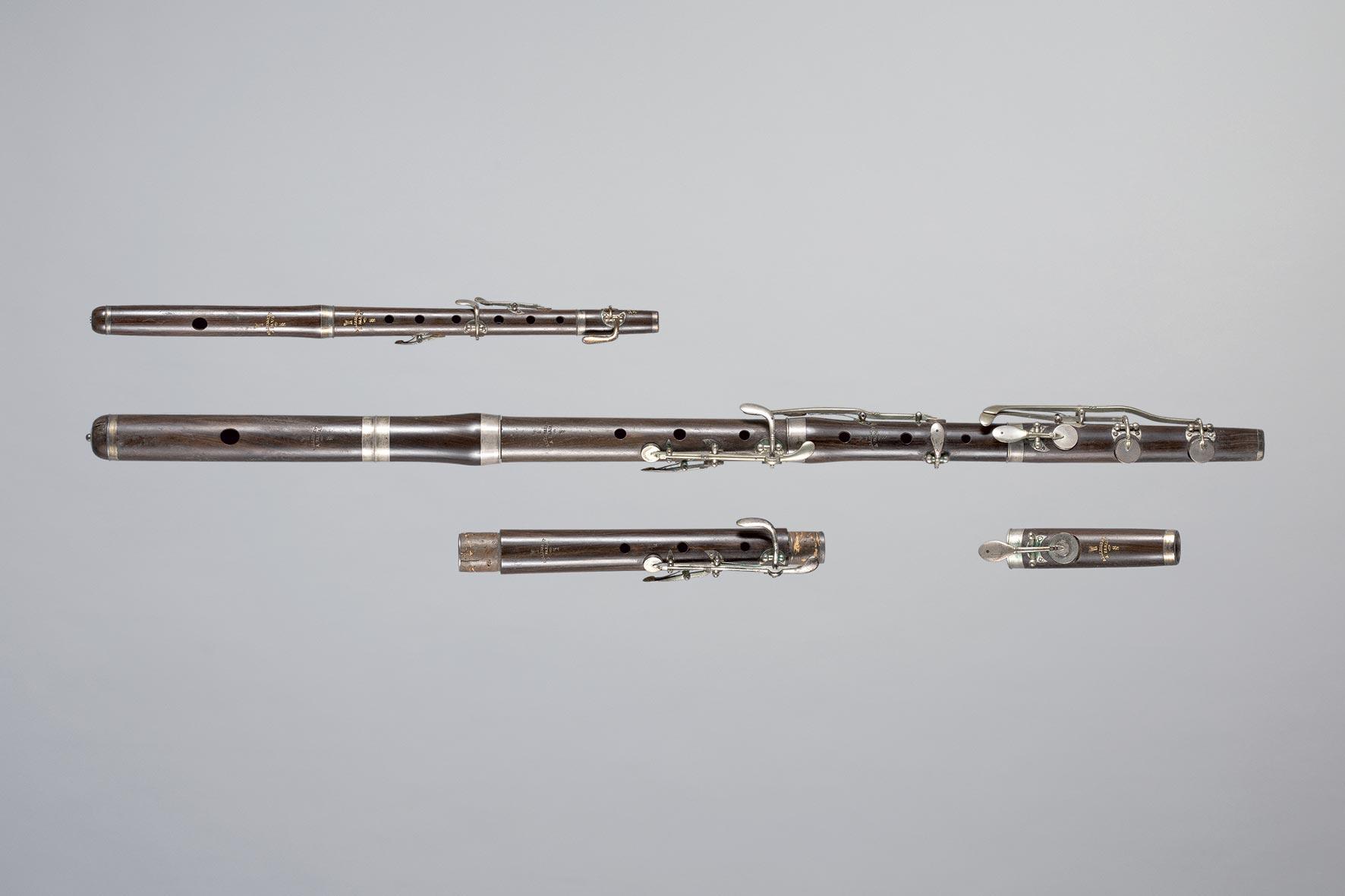 Flûte avec corps de rechange et piccolo BELLISSENT