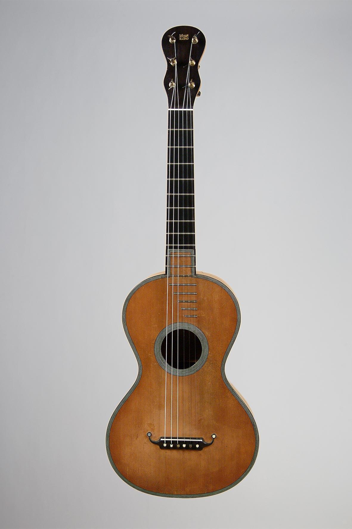 Guitare de François-René LACOTE