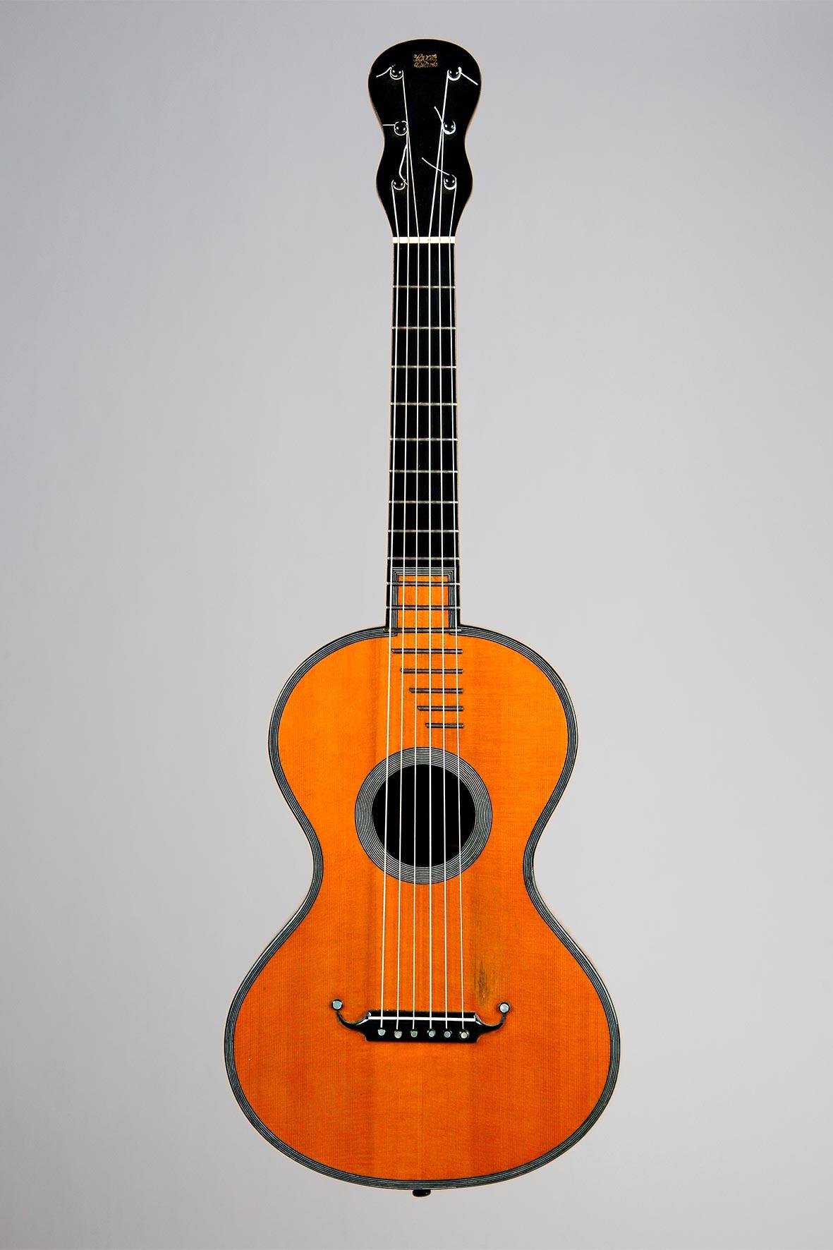 """Guitare """"à la tierce"""" de René LACOTE"""