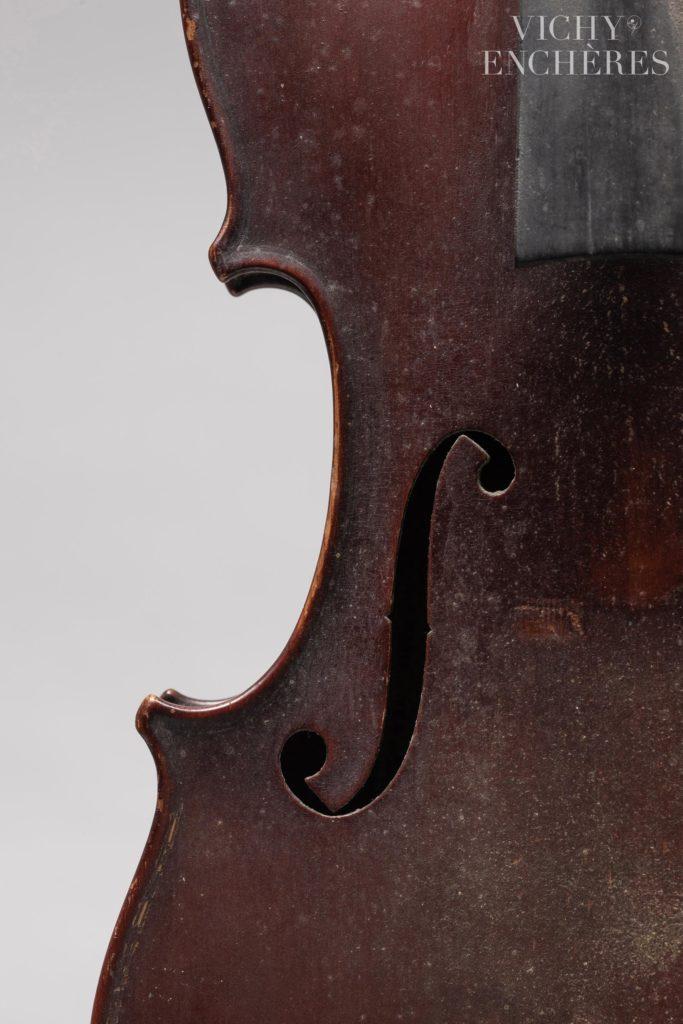 Violon de Sébastien BERNARDEL dit Bernardel Père