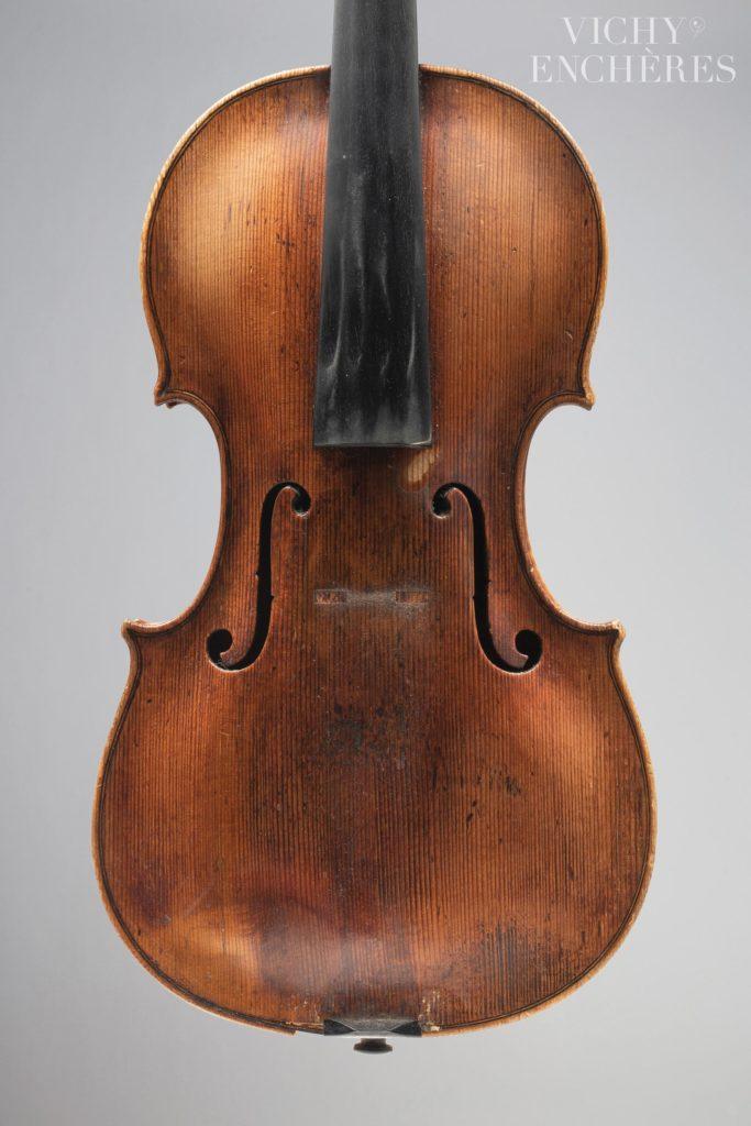 Intéressant violon de l'école de Rome fait dans le style de Michael PLATNER