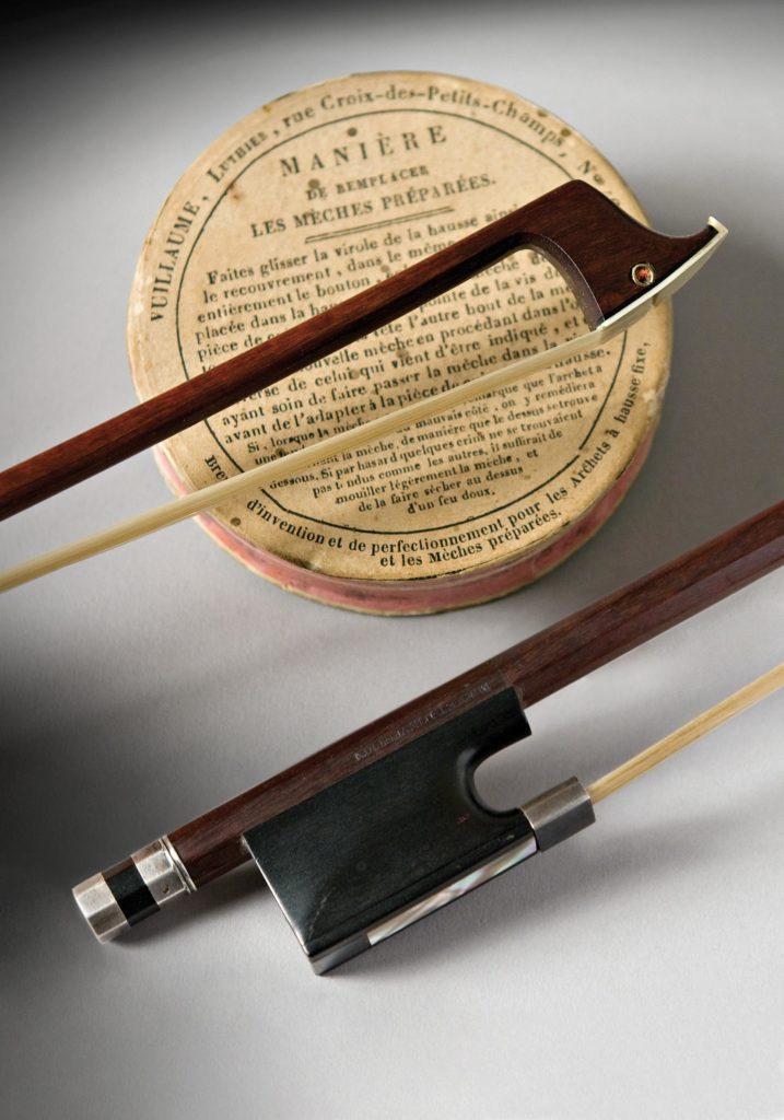 Archet de violon à mèche interchangeable de Jean-Baptiste Vuillaum