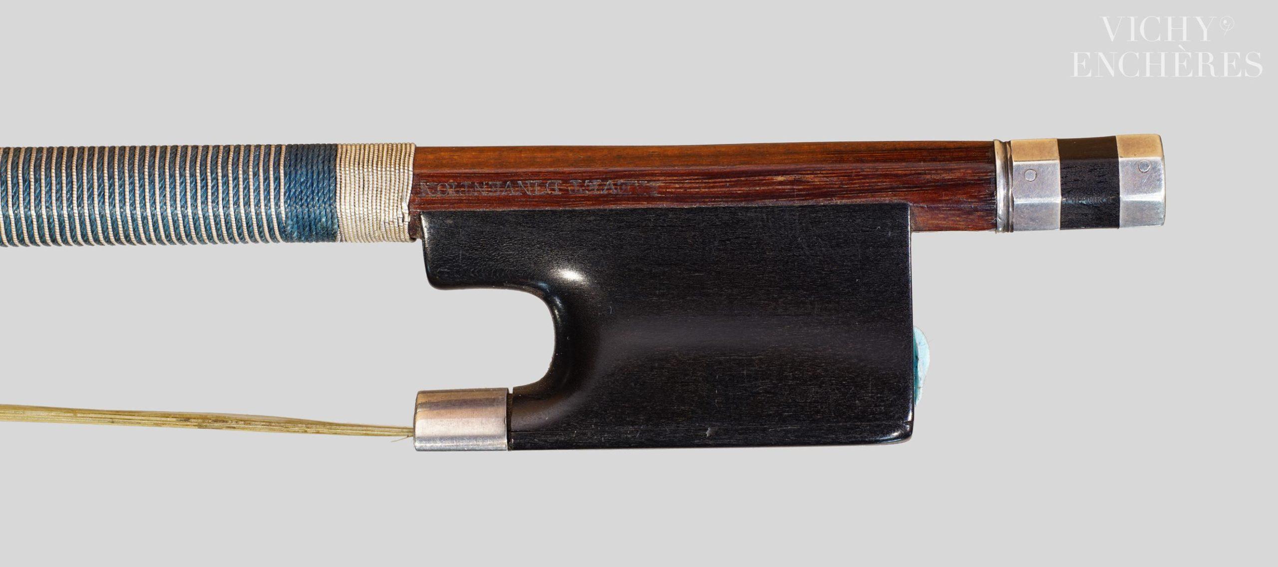 Archet de violon de Nicolas MAIRE, fait en modèle à mèche interchangeable