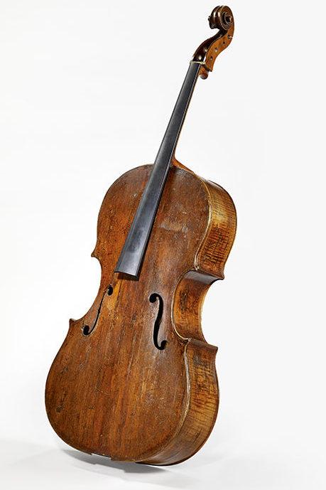 Basse de violon recoupée en violoncelle, d'Andrea Amati