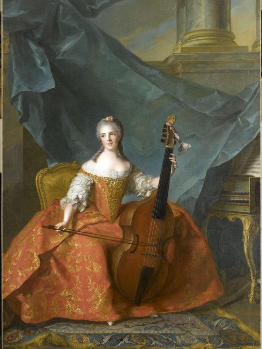 Jean-Marc Nattier Portrait de Madame Henriette de France
