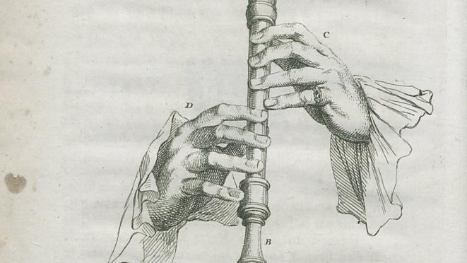 Jacques Hotteterre - Principes de la flûte à bec - 1707