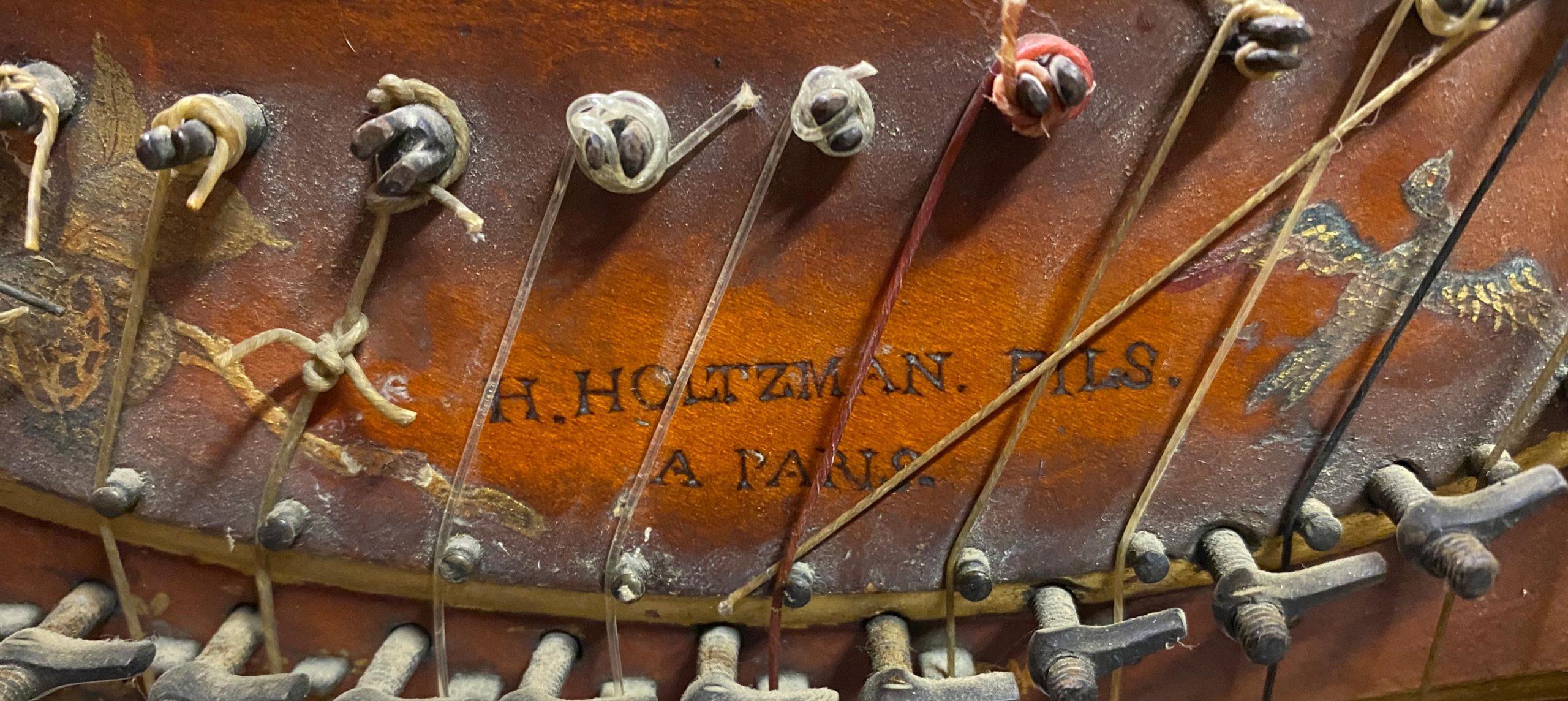 Harpe Holtzman fils, Paris, 1782