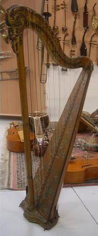 Harpe de Cousineau, Paris fin XVIIIème