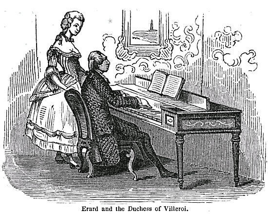 Erard et la duchesse de Villeroy