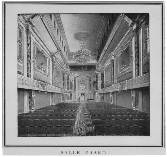 Salle Erard, Médiathèque de l'Architecture et du Patrimoine