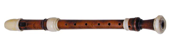 Flûte de Peter Bressan Jaillard conservée au Horniman Museum and Gardens