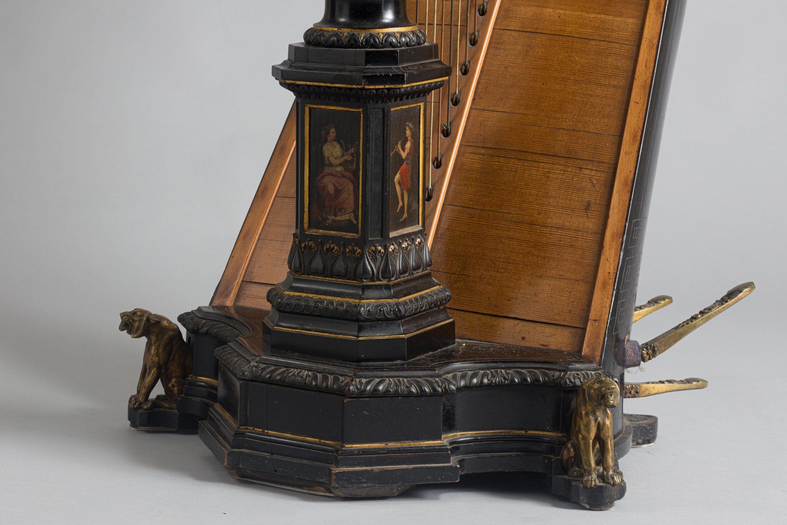 Harpe ERARD de style néo-grec, 1873