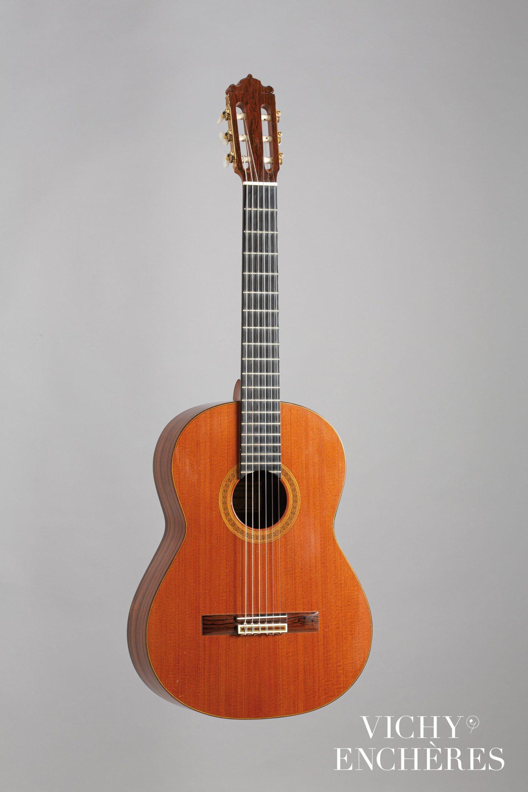 Guitare espagnole de Paulino BERNABE