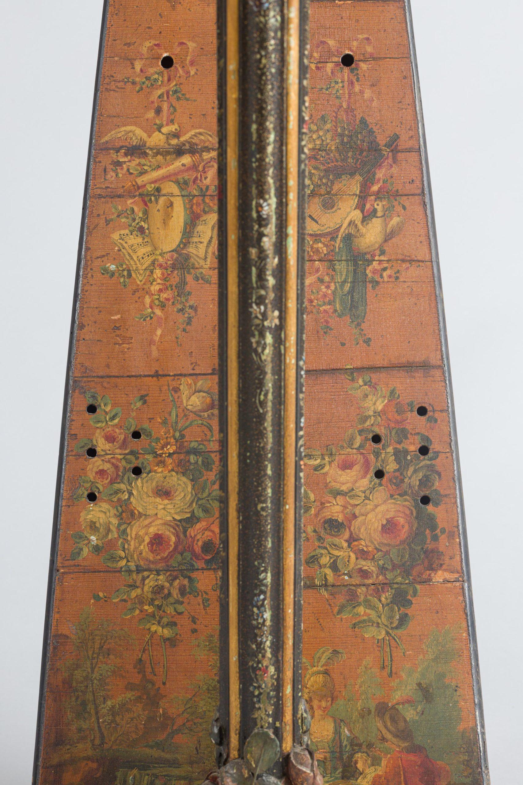 Harpe à crosse Holtzman à Paris, 1775