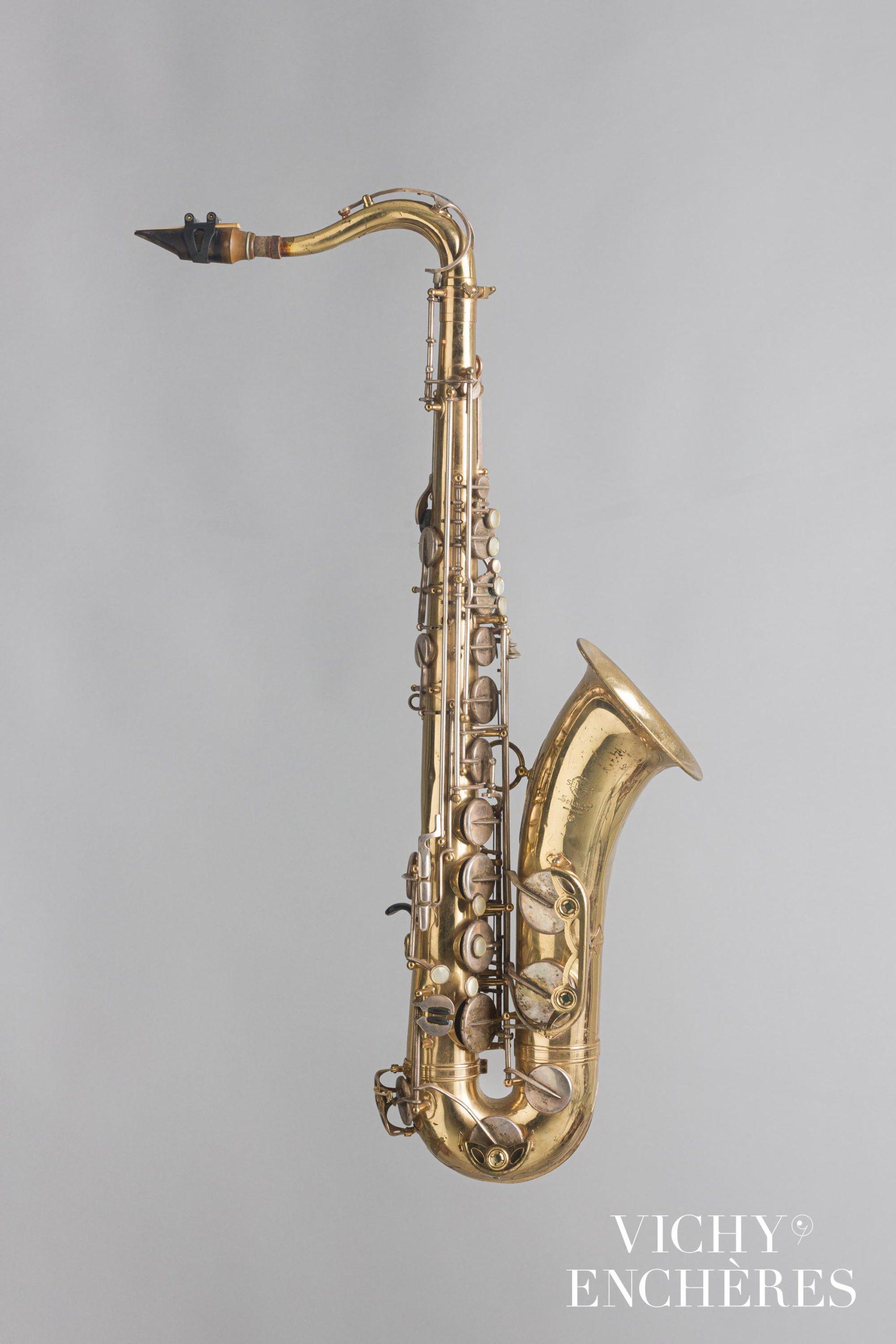 Saxophone ténor SELMER, modèle Mark VI