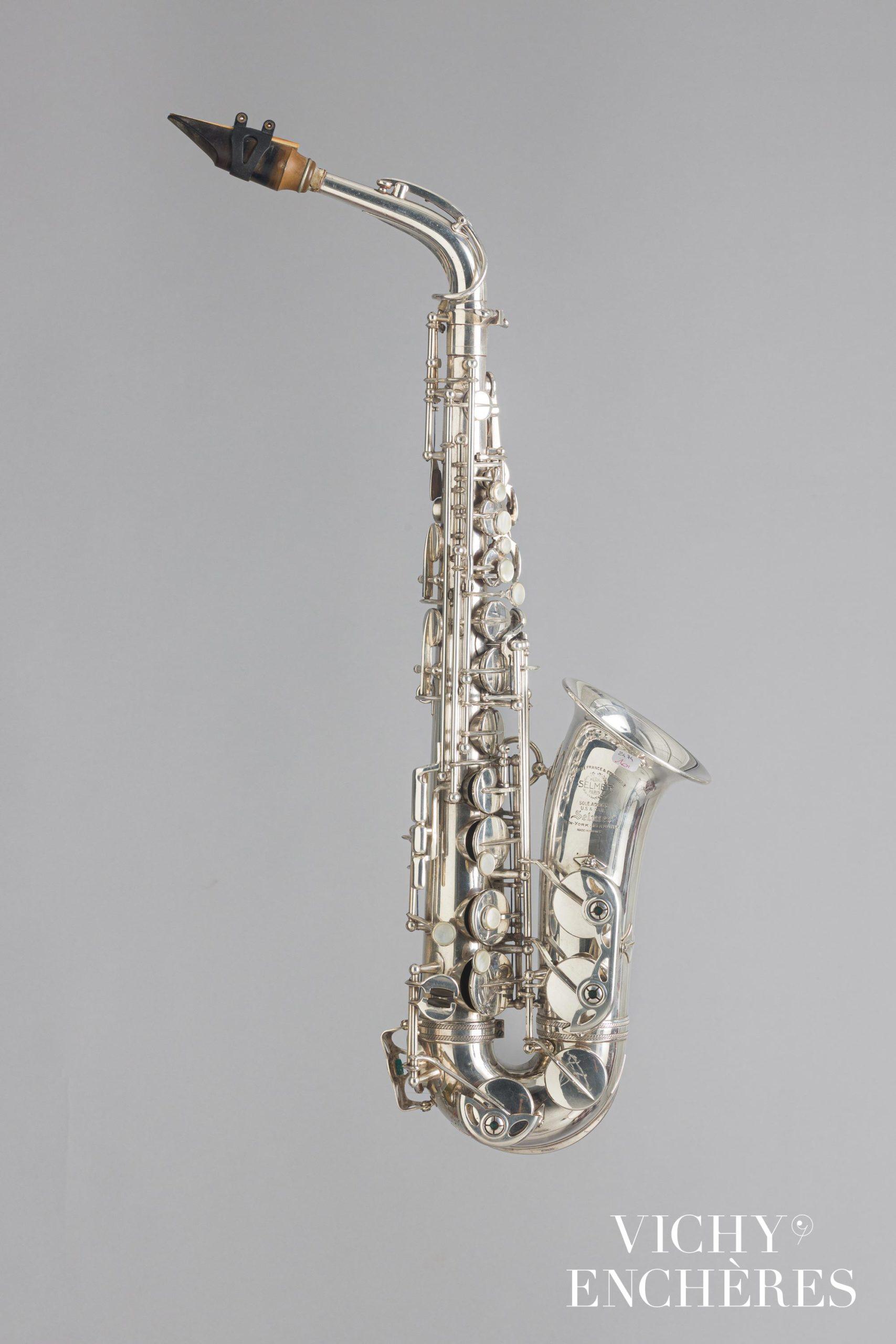 Saxophone alto SELMER modèle Super Action
