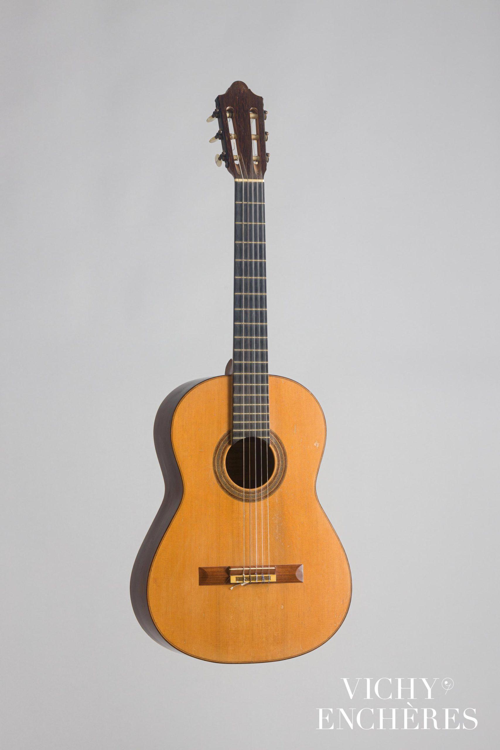 Guitare classique de Daniel FRIEDERICH, 1963