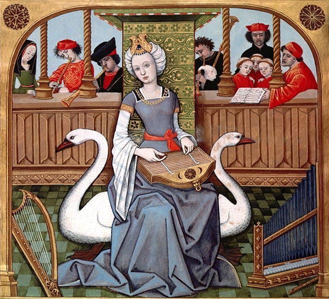 """""""Allégorie de l'Amour"""" de Robinet Testard, vers 1496-98"""
